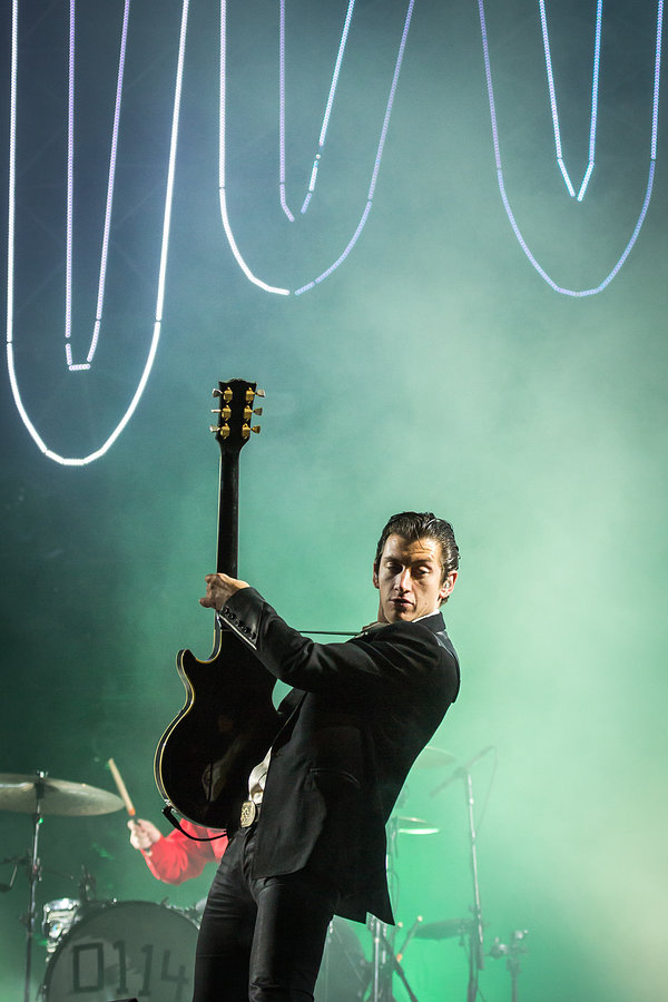 Alex Turner of Arctic Monkeys at Reading festival 2014 by Victor Frankowski www.victorfrankowski.com