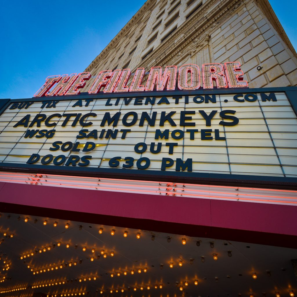 Arctic Monkeys, Fillmore, Detroit